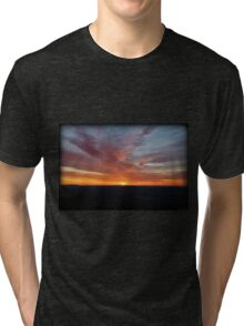 Breaking Through Morning Tri-blend T-Shirt