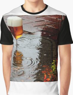 Sidewalk Beer Graphic T-Shirt