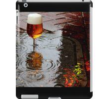 Sidewalk Beer iPad Case/Skin