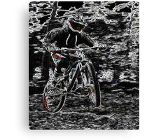Mountain Bikes Canvas Print