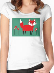 FOX VISIT #1 Women's Fitted Scoop T-Shirt