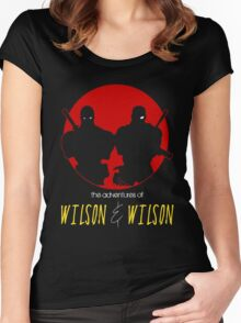 WILSON & WILSON Women's Fitted Scoop T-Shirt