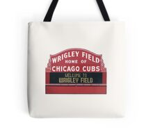 Cubs Baseball Tote Bag
