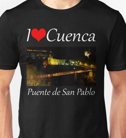 I love Cuenca Unisex T-Shirt