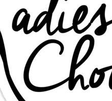 Ladies' Choice A Cappella Sticker