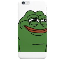 Pepe the frog - smug iPhone Case/Skin
