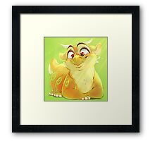 Happy Ham Framed Print