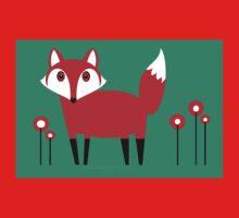 FOX VISIT #2 Kids Tee
