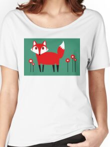 FOX VISIT #2 Women's Relaxed Fit T-Shirt