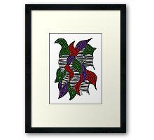 Doodle Bug 6 Framed Print