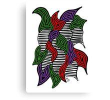 Doodle Bug 6 Canvas Print