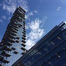 New Skyscraper Construction, Tribeca, Lower Manhattan, New York City by lenspiro