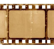 Old film strip Sticker