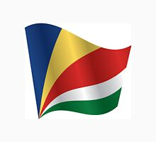 Waving Flag of Seychelles Unisex T-Shirt