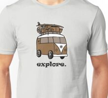 Explore. Unisex T-Shirt