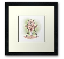 Ancient Elf Framed Print
