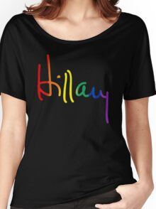 LGBT for Hillary Women's Relaxed Fit T-Shirt