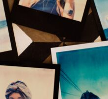 Rio de Janeiro - Five Polaroid Images Overhead Sticker