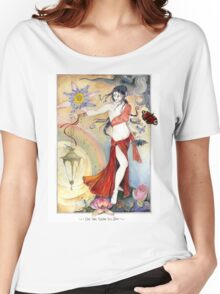 White Tara Tibetan Goddess Women's Relaxed Fit T-Shirt
