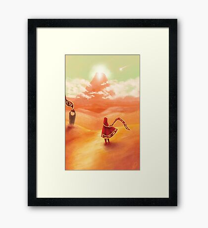 Journey - I Was Born For This Framed Print