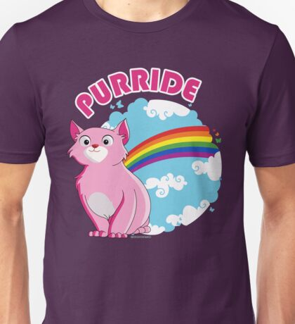 Gay Purrride Unisex T-Shirt