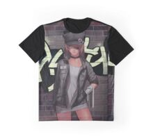 Evangelion Grafity Bad Girl Graphic T-Shirt