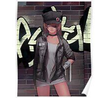 Evangelion Grafity Bad Girl Poster