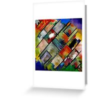 Abstract composition 96 Greeting Card