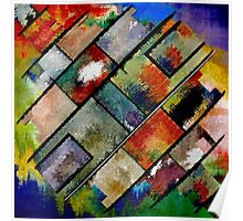 Abstract composition 96 Poster