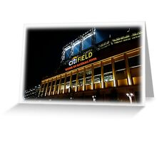 NY Home of Baseball Fever Greeting Card