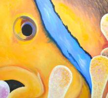 Clown Fish in Sea Anemone Sticker