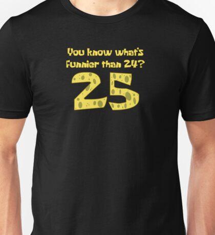 25 - Spongebob Unisex T-Shirt