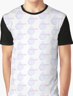 crybaby teardrop Graphic T-Shirt