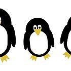 Cartoon Penguins by imagology