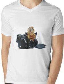 "Rule #1:   ""Always Remove The Lens Cap""... Mens V-Neck T-Shirt"