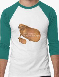 Don't talk to me or my son ever again - geek Men's Baseball ¾ T-Shirt