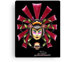 Spider Lady Canvas Print