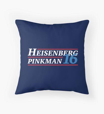 Election 2016 - Heisenberg & Pinkman Throw Pillow