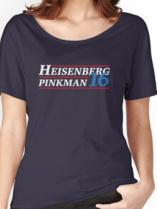 Election 2016 - Heisenberg & Pinkman Women's Relaxed Fit T-Shirt
