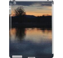 Fading Winter Color Swim iPad Case/Skin