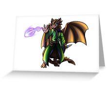 Dragon Mage Greeting Card