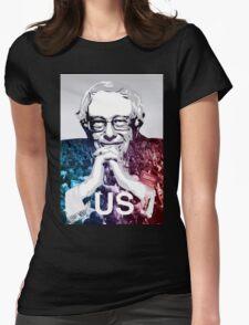 US - Bernie Sanders Art Womens Fitted T-Shirt