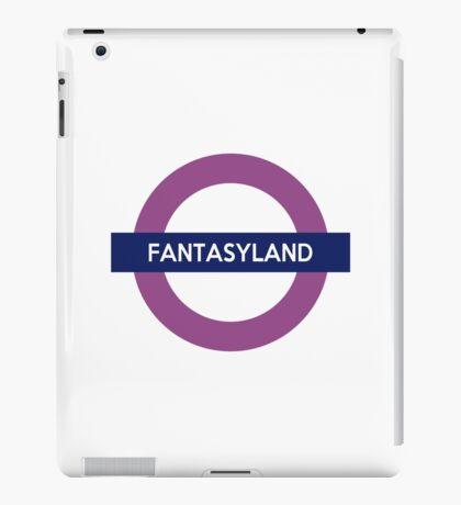Fantasyland Line iPad Case/Skin