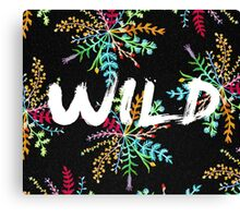 Wild nature Canvas Print