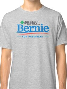 Green Party Voters for Bernie for President Classic T-Shirt