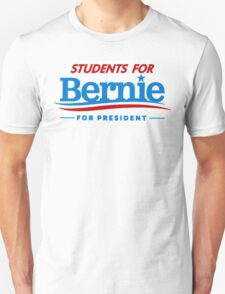 Students for Bernie for President T-Shirt