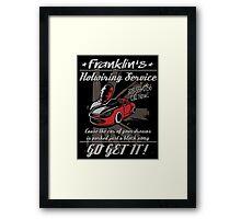Franklin Hotwiring Services Framed Print