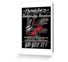 Franklin Hotwiring Services Greeting Card