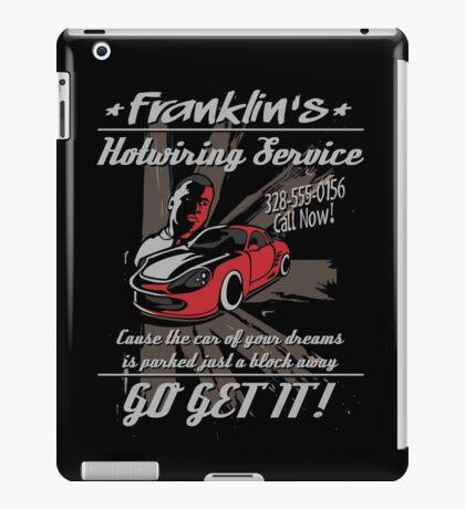 Franklin Hotwiring Services iPad Case/Skin