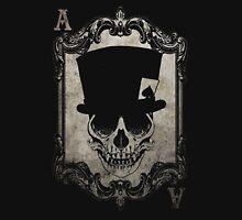 Voodoo Monkey Skull Ace of Spades Unisex T-Shirt